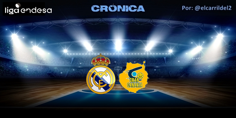 CRÓNICA | Luces y sombras: Real Madrid 91 – 73 Herbalife Gran Canaria