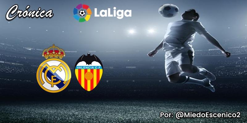 CRÓNICA   TDI: Real Madrid 3 – 0 Valencia