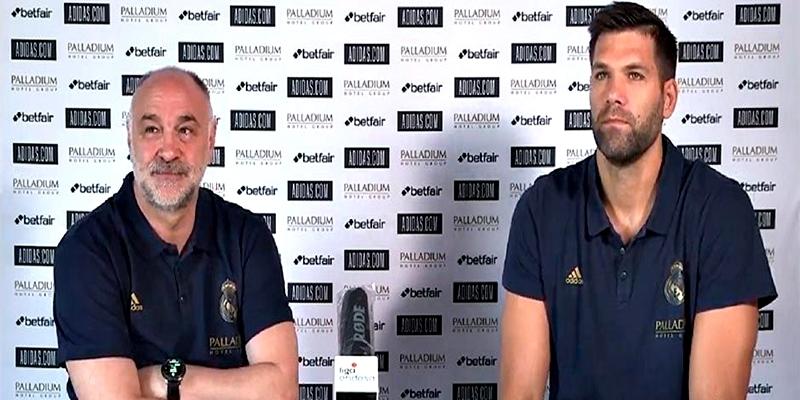 VÍDEO   Declaraciones de Pablo Laso y Felipe Reyes previas al inicio de la Fase Final de la Liga Endesa