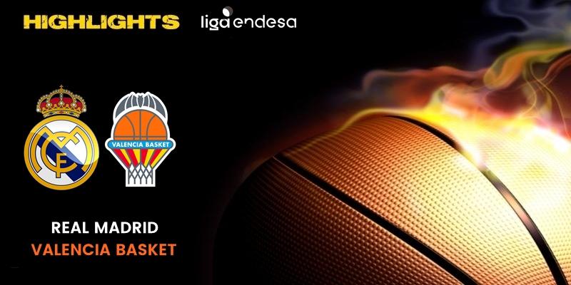 VÍDEO | Highlights | Real Madrid vs Valencia Basket Club | Liga Endesa | Fase Final | Jornada 3
