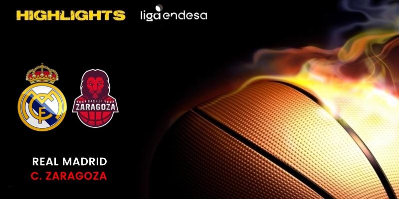 VÍDEO | Highlights | Real Madrid vs Casademont Zaragoza | Liga Endesa | Fase Final | Jornada 5
