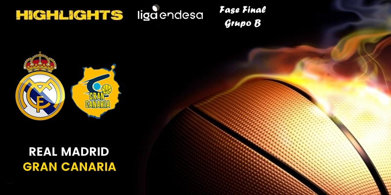 VÍDEO | Highlights | Real Madrid vs Herbalife Gran Canaria | Liga Endesa | Fase Final | Jornada 1