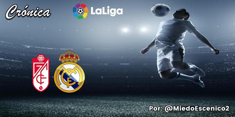 CRÓNICA   A la francesa: Granada 1 – 2 Real Madrid