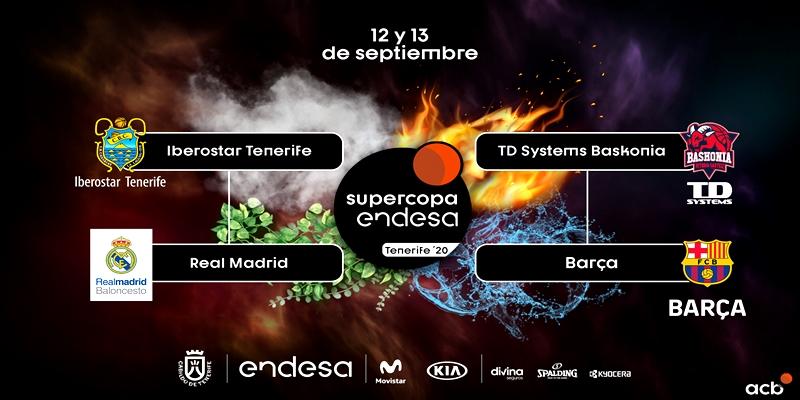 NOTICIAS | El Real Madrid se medira al Iberostar Tenerife en semifinales de la Supercopa