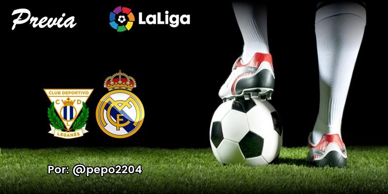 PREVIA   CD Leganés vs Real Madrid: Título, despedida y gracias