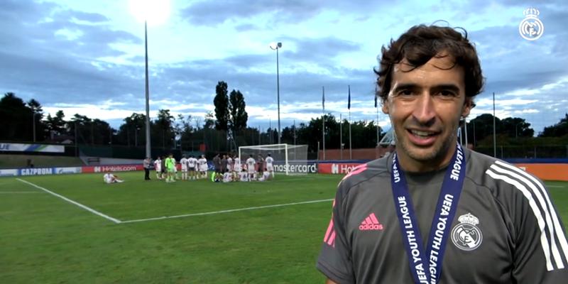 VÍDEO | Declaraciones post partido | Benfica vs Real Madrid | Uefa Youth League | Final
