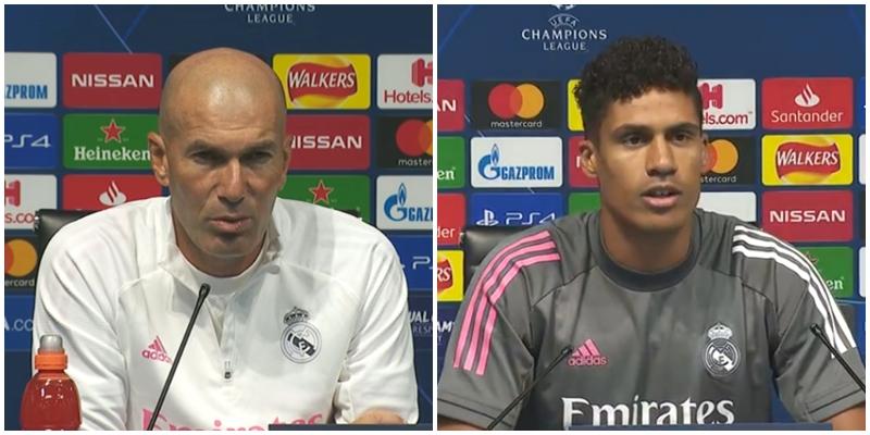 VÍDEO   Rueda de prensa de Zinedine Zidane y Raphael Varane previa al partido ante el Manchester City