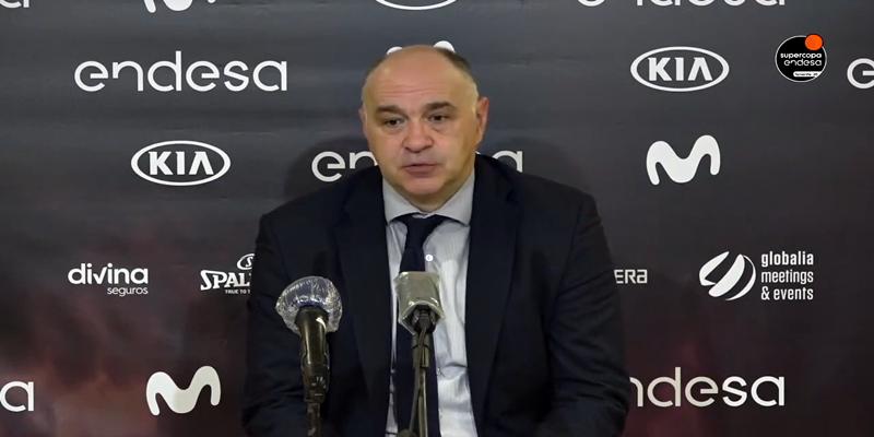 VÍDEO   Pablo Laso: «Estoy contento con la victoria, era un partido complicado y dificil»
