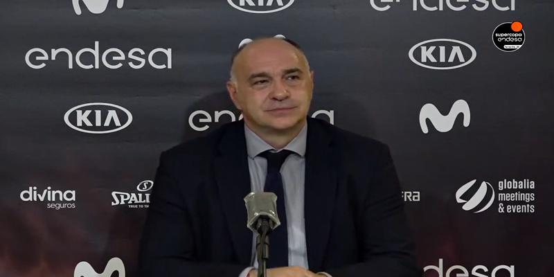 VÍDEO   Rueda de prensa de Pablo Laso y Facundo Campazzo tras la final de la Supercopa Endesa