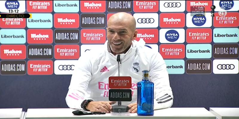 VÍDEO   Rueda de prensa de Zinedine Zidane previa al partido ante el Cádiz