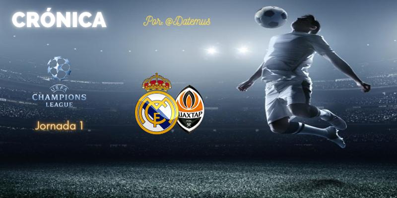CRÓNICA   Ganadores desganados: Real Madrid 2 – 3 Shakhtar Donetsk