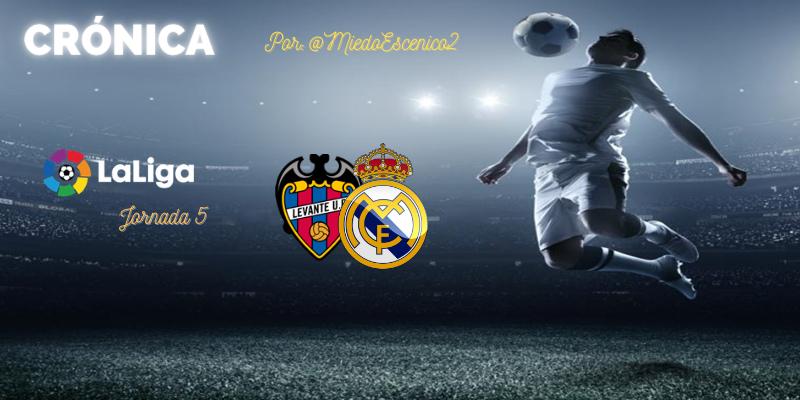 CRÓNICA | Hormigón y (un poco de) rock'n'roll: Levante 0 – 2 Real Madrid