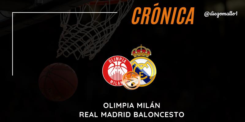 CRÓNICA   El Chacho agrava la crisis del Real Madrid en la Euroliga: Olimpia Milán 78 – 70 Real Madrid