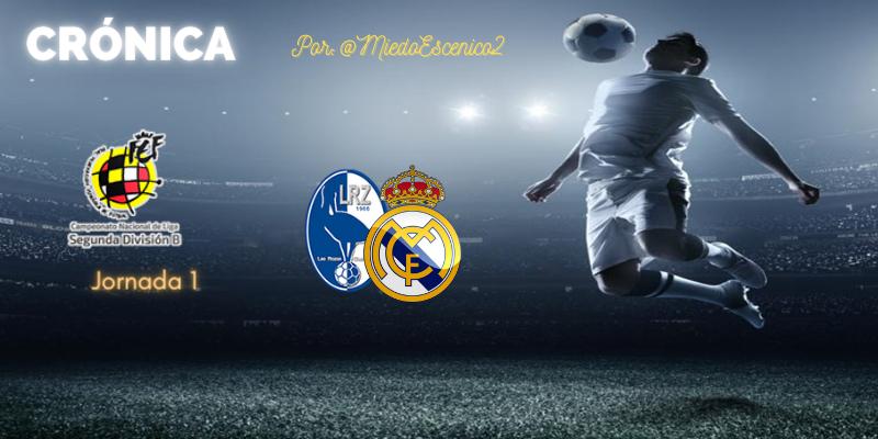 CRÓNICA   Estreno de color de rosa: Las Rozas 1 – 2 Real Madrid Castilla