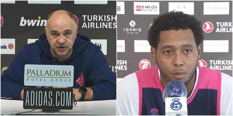 VÍDEO | Declaraciones de Pablo Laso y Trey Thompkins en la previa del partido ante el Valencia Basket