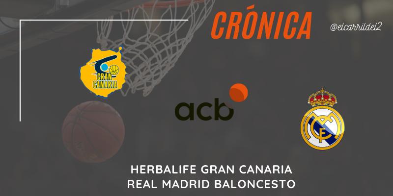 CRÓNICA   Victoria comoda: Herbalife Gran Canaria 65 – 90 Real Madrid