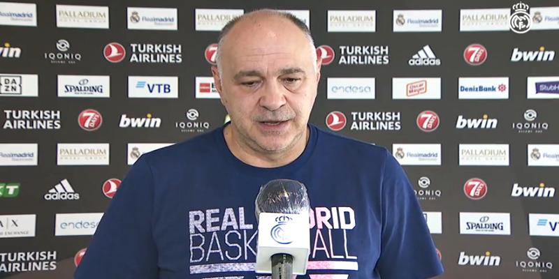 VÍDEO | Pablo Laso: «El equipo está bien»