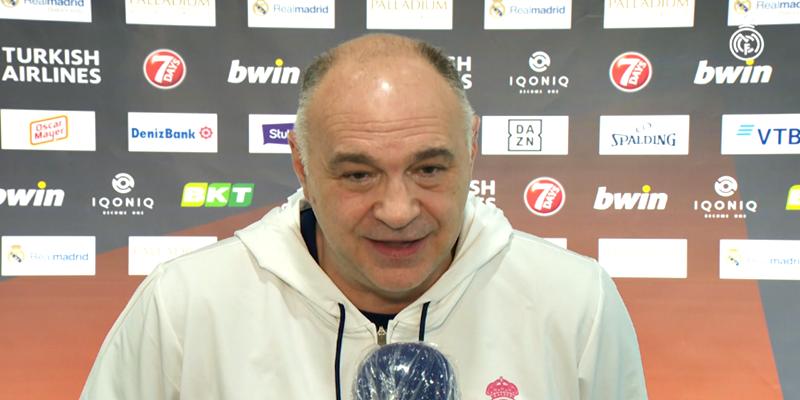 POST PARTIDO   Pablo Laso: «Solo tengo palabras buenas para Campazzo»