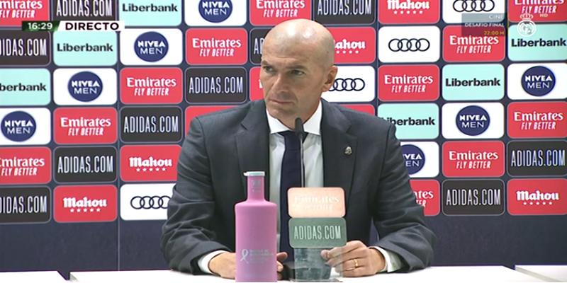 VÍDEO | Rueda de prensa de Zinedine Zidane tras el partido ante el Huesca