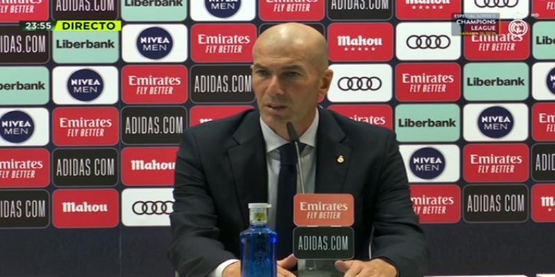 VÍDEO   Rueda de prensa de Zinedine Zidane tras el partido ante el Celta de Vigo
