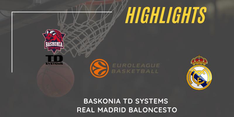 VÍDEO | Highlights | Baskonia vs Real Madrid | Euroleague | Jornada 1