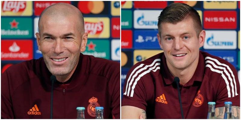 VÍDEO | Rueda de prensa de Zinedine Zidane y Toni Kroos previa al partido ante el Borussia Mönchengladbach