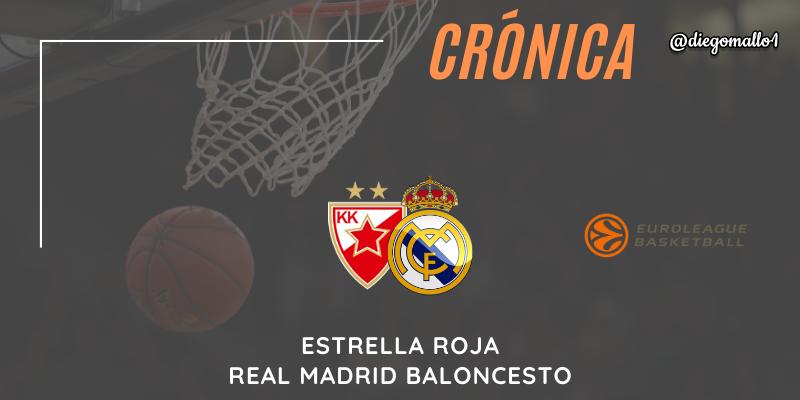 CRÓNICA | Un solo cuarto le vale al conjunto de Laso para llevarse la victoria: Estrella Roja 67 – 73 Real Madrid