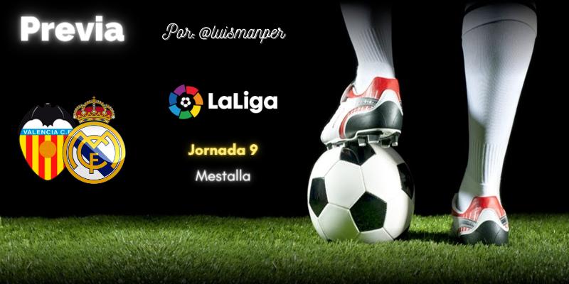 PREVIA | Valencia vs Real Madrid: Con el Covid en los talones