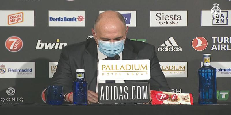 VÍDEO   Declaraciones de Pablo Laso tras el partido ante el Fenerbahçe