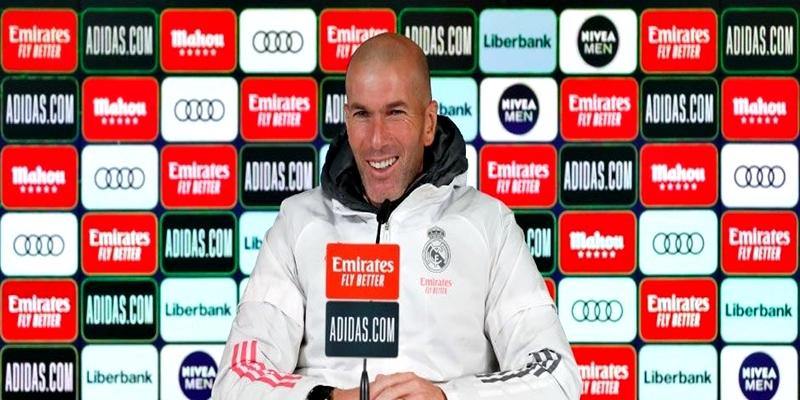 VÍDEO   Rueda de prensa de Zinedine Zidane previa al partido ante el Deportivo Alavés