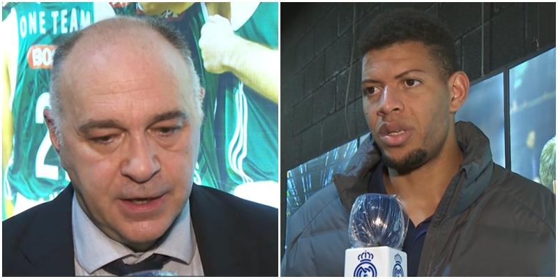 VÍDEO | Declaraciones de Pablo Laso y Walter Tavares tras el partido ante Zalgiris