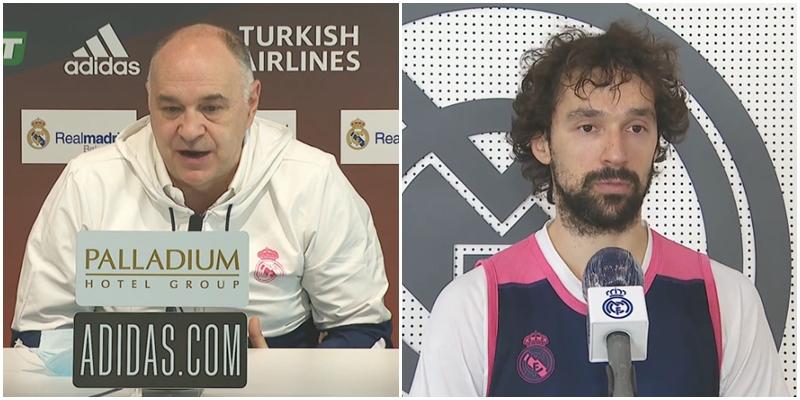 VÍDEO | Declaraciones de Pablo Laso y Sergio Llull en la previa del partido ante Maccabi