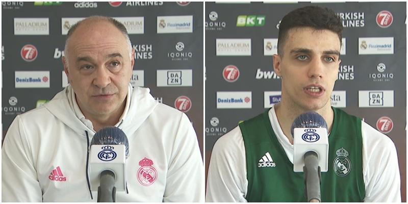 VÍDEO | Declaraciones de Pablo Laso y Carlos Alocén previas al partido ante el Fenerbahçe