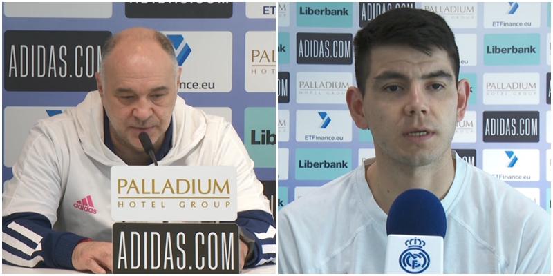 VÍDEO | Declaraciones de Pablo Laso y Gabriel Deck en la previa del partido ante el FC Barcelona