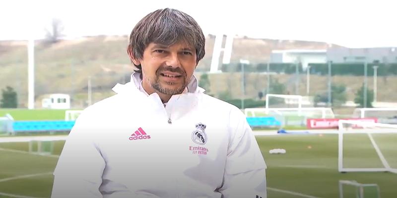 VÍDEO | David Aznar: «La mejor manera de ganar al Barcelona es representando el escudo del Real Madrid»