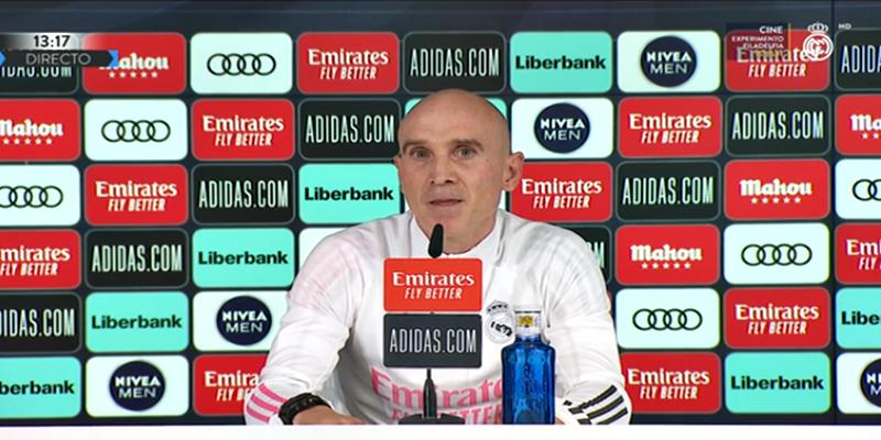 VÍDEO | Rueda de prensa de David Bettoni previa al partido ante el Levante