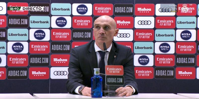 VÍDEO | Rueda de prensa de David Bettoni tras el partido ante el Levante