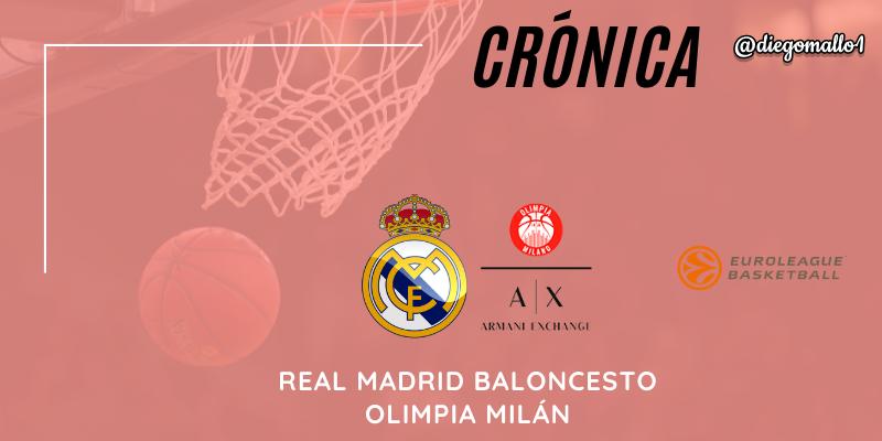 CRÓNICA | Un horroso comienzo de tercer cuarto condena al Real Madrid: Real Madrid 76 – 80 Olimpia Milán