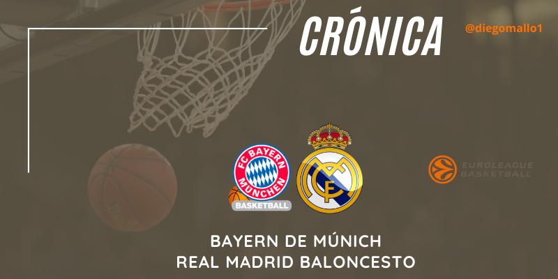 CRÓNICA   Un soberbio Tavares encarrila una nueva victoria blanca: Bayern de Múnich 76 – 81 Real Madrid