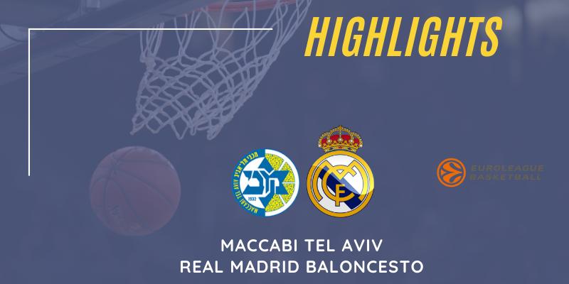 VÍDEO | Highlights | Maccabi Tel Aviv vs Real Madrid | Euroleague | Jornada 21