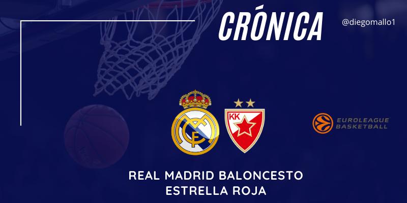 CRÓNICA | Un blando Real Madrid suma una nueva derrota en el Wizink: Real Madrid 77 – 79 Estrella Roja