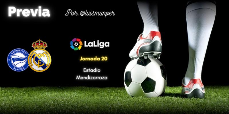 PREVIA | Deportivo Alavés vs Real Madrid: La soga al cuello
