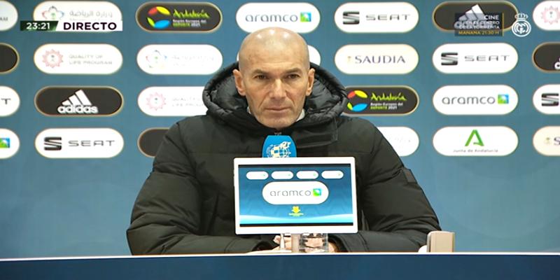 VÍDEO | Rueda de prensa de Zinedine Zidane tras el partido ante el Athletic Club Bilbao