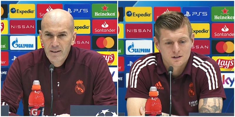 VÍDEO | Rueda de prensa de Zinedine Zidane y Toni Kroos previa al partido ante el Atalanta