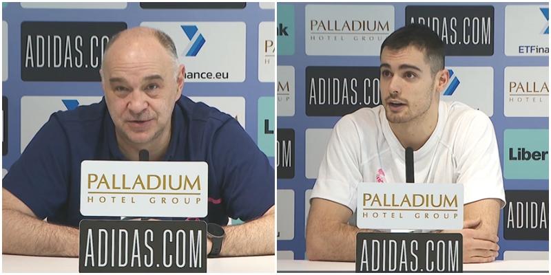 VÍDEO | Declaraciones de Pablo Laso y Alberto Abalde en la previa del partido ante Valencia Basket