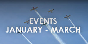 bandit flight team events from january- march