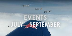 bandit flight team events from july- september