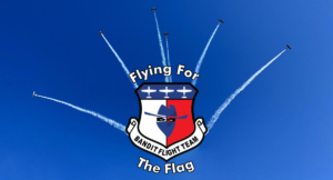 flying for the flag image