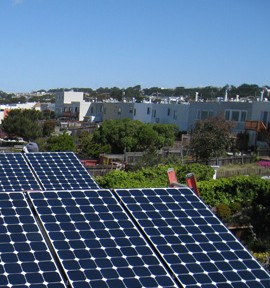 home solar install