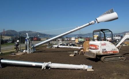 wind turbine raising crissy field